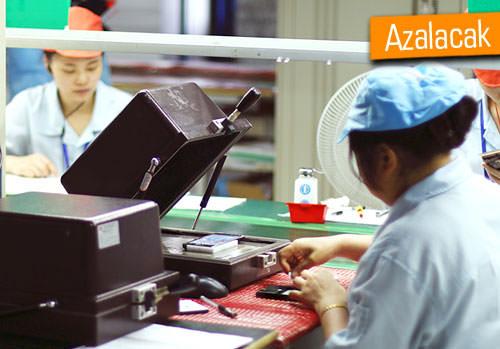 Tayvanlı telefon üreticileri kesinti yapacak!