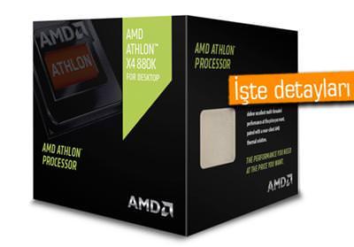 AMD, YENİ APU A10-7890K VE ATHLON X4 880K İŞLEMCİLERİNİ DUYURDU