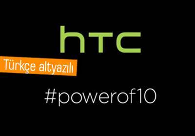 HTC TÜRKİYE, ONE M10 İLE İLGİLİ İLK VİDEOYU PAYLAŞTI!