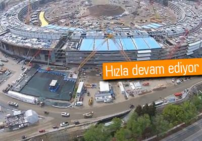 APPLE'IN UZAY GEMİSİNİ ANDIRAN CAMPUS 2'SİNİN SON HALİ!