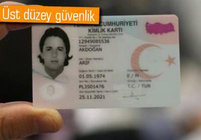 YENİ 'KİMLİK KARTLARI'NIN SAHTESİNİ YAPMAK İMKANSIZ!