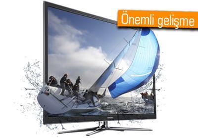 SAMSUNG, TV'DE 3D DESTEĞİNİ BİTİRİYOR!