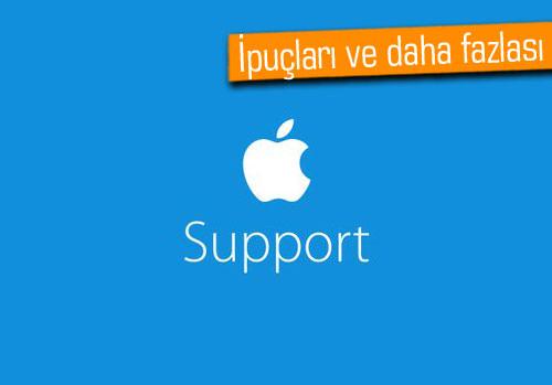Apple, Twitter'da Destek hesabı açtı!