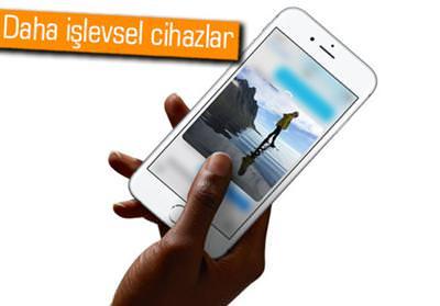 APPLE'IN KULLANDIĞI 3D TOUCH SİSTEMİ, ANDROİD TELEFONLARA DA GELİYOR