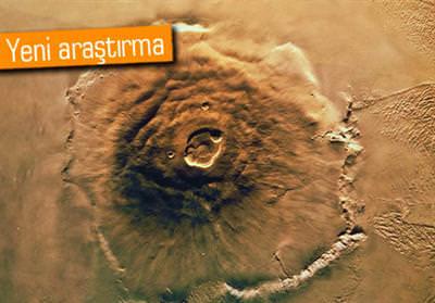 MARS, YANARDAĞ PATLAMASI YÜZÜNDEN EĞİLMİŞ