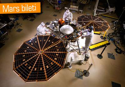 MARS'A BİLET TARİHİ BELLİ OLDU