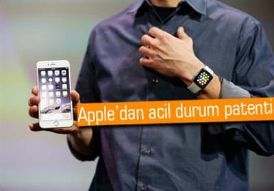 APPLE, ACİL DURUM PATENTİ ALDI