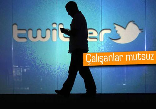 Twitter çalışanları mutsuz