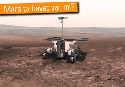 EVOMARS, MARS'TA YAŞAM ARAYIŞINA BAŞLIYOR