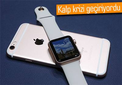 APPLE WATCH HAYAT KURTARDI