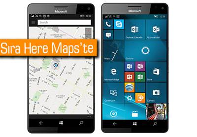 HERE MAPS, WİNDOWS PHONE VE WİNDOWS 10 DESTEĞİNİ SONLANDIRIYOR
