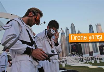 DÜNYA DRONE YARIŞI DÜZENLENDİ