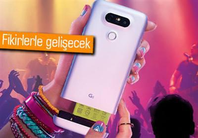 LG, MODÜLER TELEFONU G5 İÇİN ORTAKLAR ARIYOR!