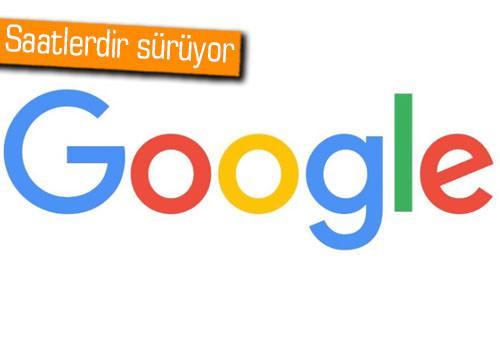 Google çöktü, hayat durdu! (Güncellendi)