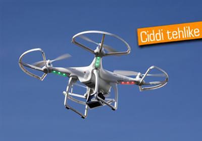DRONE İLE UÇAĞIN ÇARPIŞMASINA RAMAK KALDI