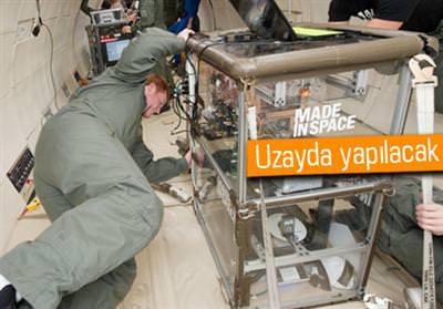 NASA 3 BOYUTLU YAZICI GÖNDERECEK