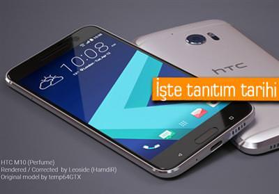 HTC, YENİ AMİRAL GEMİSİ HTC 10 İÇİN TARİH VERDİ!