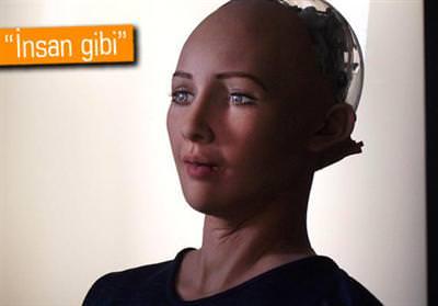 İNSANSI ROBOT SOPHİA, 'İNSANLIĞIN SONUNU GETİRMEK' İSTİYOR!