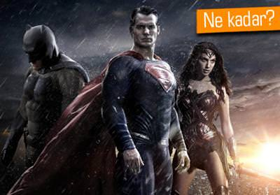 BATMAN V SUPERMAN: DAWN OF JUSTİCE'IN İLK GÜN HASILATI