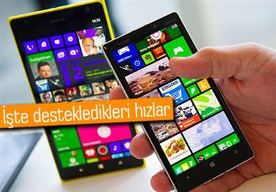 4.5G UYUMLU MİCROSOFT/NOKİA TELEFONLAR