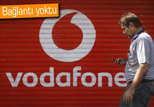 Vodafone şebekesinde sıkıntı yaşandı