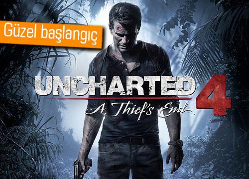 Uncharted 4, ilk haftasında ne kadar satıldı?