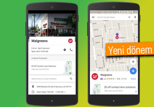 Google Haritalar'da yakında reklam görmeye başlayacağız