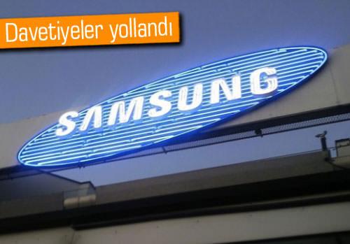 Samsung özel etkinliğinde ne tanıtacak?