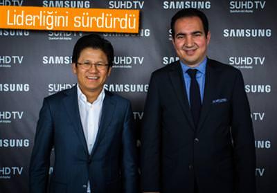 SAMSUNG, 1 YILDA 120 BİN KAVİSLİ TV SATTI
