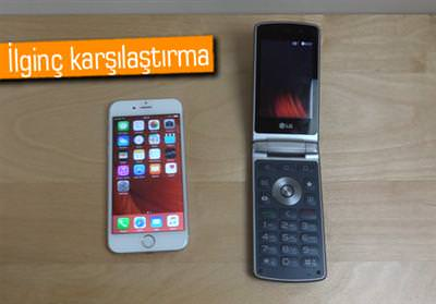 İPHONE 6S İLE LG WİNE SMART HIZ TESTİNDE