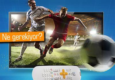 TURKCELL TV+'TA MAÇLAR 4K ULTRA HD YAYINLANACAK