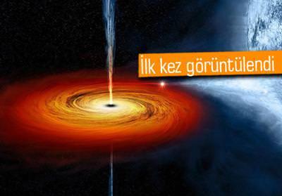 KARA DELİK GAZ BULUTLARINI DA YUTUYOR!