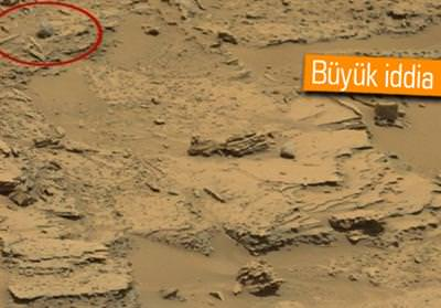 MARS'TA ŞİMDİ DE UZAYLI KAFATASI İDDİASI!