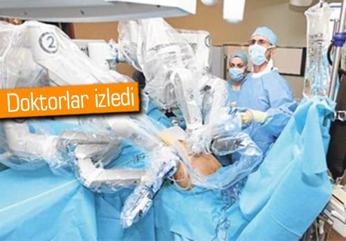 Devlet hastanesinde robot devri