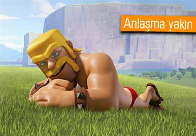 CLASH OF CLANS'IN YAPIMCISI SUPERCELL SATILIYOR