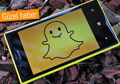 SNAPCHAT'İN RESMİ WİNDOWS PHONE UYGULAMASI YOLDA!