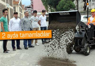 LİSELİLERİN GELİŞTİRDİĞİ 'KOTARAN' İLGİ GÖRÜYOR