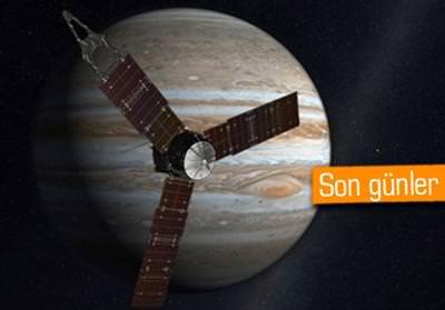 NASA'NIN UZAY ARACI JUNO JÜPİTER'İN YÖRÜNGESİNE GİRMEYE HAZIRLANIYOR