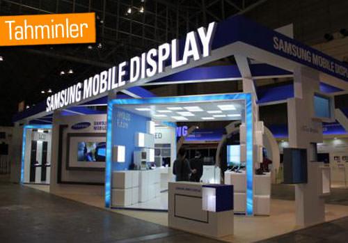 Samsung rekor düzeyde AMOLED ekran sevkiyatı gerçekleştirecek