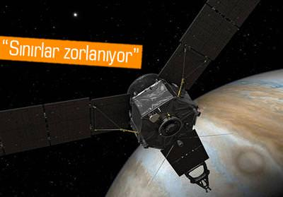 NASA'NIN UZAY ARACI JUNO, JÜPİTER'İN MANYETİK ALANINA GİRDİ