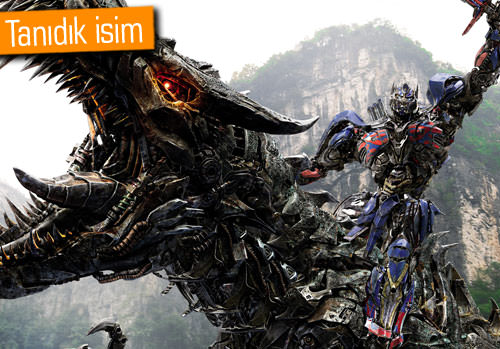 Transformers'ın kadrosuna yeni bir isim katıldı
