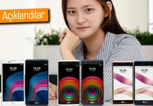 LG X5 ve LG X Skin resmen duyuruldu. İşte özellikleri!