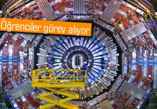 CERN'ün kapıları İTÜ ile Türk öğrencilere açılıyor