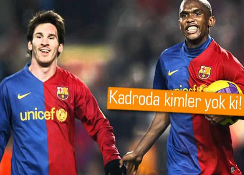 Messi, Neymar, JayJay Okocha, Xavi ve daha birçok yıldız, Türkiye'ye geliyor!