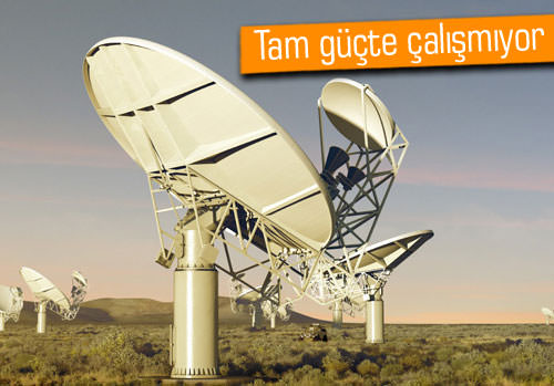 Süper teleskopla çekilen ilk görsel yayınlandı