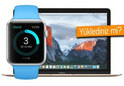OS X EL CAPİTAN 10.11.6, TVOS 9.2.2 VE WATCHOS 2.2.2 GÜNCELLEMELERİ YAYINLANDI