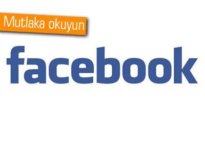 FACEBOOK'TAKİ OHAL PAYLAŞIMLARINA DİKKAT
