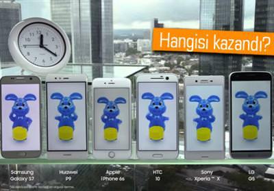 GALAXY S7, HUAWEİ P9, İPHONE 6S, HTC 10, XPERİA X VE LG G5 PİL TESTİNDE!
