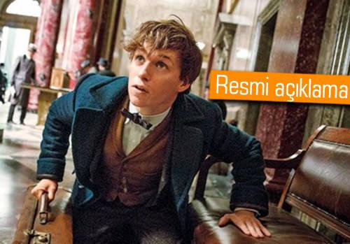 'Fantastic Beasts'in devam filmi için tarih verildi!