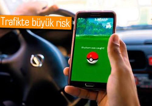 349 sürücüye Pokemon cezası kesildi!